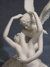 "Capodimonte porcelain in BISCUIT "" Love and Psyche"""