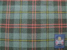 100% laine d'agneau doux Tweed tissu à motif écossais 1.85 Mètre