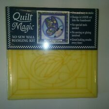 New listing Quilt Magic No Sew Wall Hanging Kit #156 Butterfly