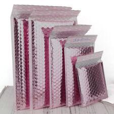 10 Rose Gold METALLIC Poly Bubble Mailers Envelopes Gift Self-Sealing EnvelopZT