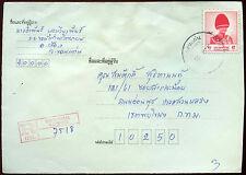 Thailand Registered Cover #C15327