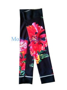 Shebeest Womens Flamboyant Brave Flower cycling arm warmers Medium Large XL New