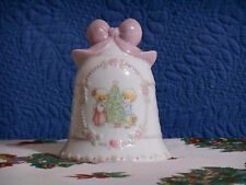 Precious Moments by Enesco 1997 Christmas Bell