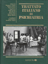 Traité italien par Psychiatrie. 3 Voll. divers. Masson. 1994. MC15