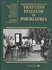 Traité italien par Psychiatrie. 3 Voll. divers. Masson. 1994. MC15