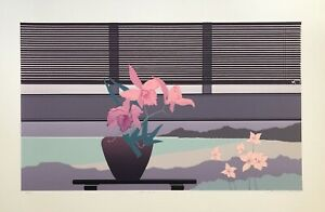 Lee White Signed and Numbered Limited Edition Serigraph Lee's View II 1980s