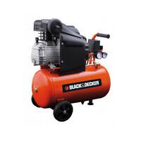 Black & Decker Compressore Aria Compressa ad Olio 24 Litri Hp 2,0 220V BD 205/24