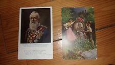 PK AK Kunstkarte Litho Prinz Luitpold 25 Jahre Königr Bayern 90 Geburtstag 1911