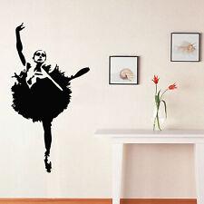 Wall Room Decor Art Vinyl Sticker Mural Decal Ballet Dance Women Ballerina FI329