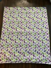 Super cute Security Blanket with Butterflies great size for travel