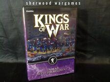 28mm Kings Of War Skeleton Regiment, Mantic Games, D&D Fantasy Roleplaying