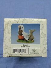 Booo Haloween Pumpkin Mouse Rabbit Collectors 85/417 Fitz & Floyd Charming Tails