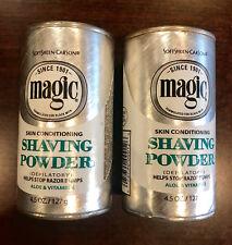 2 x Magic Shave Skin Conditioning Shaving Powder, 4.5 oz