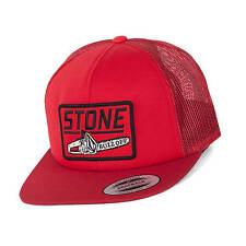 Volcom Buzz off queso gorra tipo camionero rojo - con cierre de SnapBack