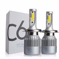 C6F H4 High Low 12V 36W Car LED Headlight Kit 6000K White Super Bright Bulbs