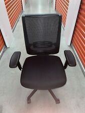 Hon Wave Mesh High Back Task Chair Conference Office Managers Softhread Leather