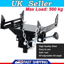 500kg Car Adjustable Floor Jack Transmission Adapter Capacity Transform Steel UK