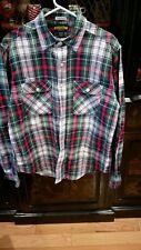 Rugby Ralph Lauren Mens Campus Classics Vintage Plaid Flannel L Large