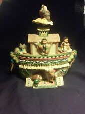 friends of a feather figurine Noah's Ark Music box