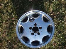 "15"" Mercedes Benz chrome wheel 15 inch 5x112mm OE 15x6.5"" chromed dent Mercedez"