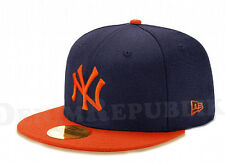 52cf3c9052a New Era 5950 NEW YORK YANKEES MLB Baseball Cap New Era Fitted Hat Navy NY