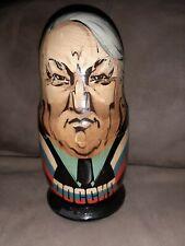 Russian Leaders Matryoshka Nesting Dolls 7 in 1 Czar - Yeltsin Poccnr Presidents
