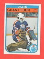 1982-83 OPC Grant Fuhr #105  RC Mint Pack Fresh