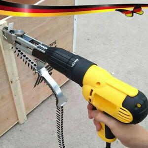 Automatische Kette Nagel Pistole Adapter Schraube Spike Bohrmaschine Werkzeug