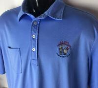 Ralph Lauren POLO Golf Shirt US Open Pinehurst No 2 USGA 2014 Volunteer XL Logo