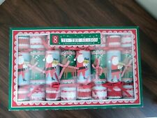 Meri Meri Tis the Season Santa & Reindeer Christmas Crackers, Set of 8