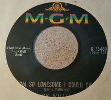 Hank Williams – I'm So Lonesome I Could Cry / You Win Again