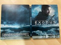 Exodus : Gods And Kings Bluray Steelbook *NO DISC*