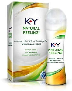 No Box KY Natural Feeling Personal Lubricant, 1.69oz
