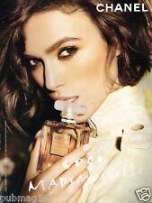 Publicité advertising 2011 Parfum Coco Mademoiselle