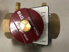 B&G Bell & Gossett Circuit Setter Plus CB 1 1/2 Balance Valve 117104