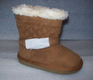 GIRL'S OKIE DOKIE TODDLER MING QUILTED BOOTS MULTIPLE COLORS/SIZES NEW