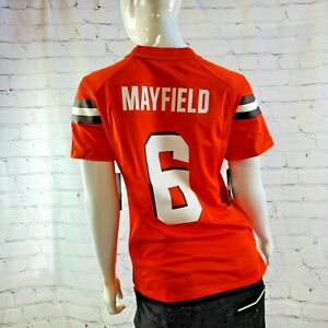 Never Used Nike Baker Mayfield Cleveland Browns Women's Jersey Small -BBS032