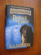 Forgotten Realms - R.A. Salvatore - Passage to Dawn HC DJ TSR Aug 1996