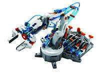 Hydraulic Robotic Arm DIY Science Kit is Water Powered with No Batteries Needed