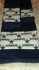 Dallas Cowboys 3 Piece Towel Set Handmade  All Teams Available   GREAT GIFT!!!!!