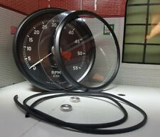 Jaguar E Type Speedo Smiths Instrument Gauge Black Bezel Glass Seal Repair Kit