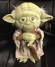 "Disney Star Wars Plush Yoda 12"""
