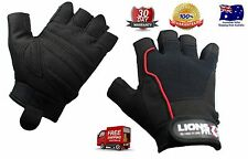LIONS FIT GYM BODY BUILDING TRAINING FITNESS WEIGHT LIFTING EXERCISE GLOVES