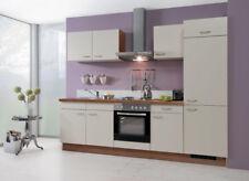 Küchenblock Küchenzeile 270cm vormontierte Küchenmöbel inkl. E-Geräte Top Preis