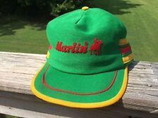 VTG Marlin Firearms Rifles Guns Logo Classic Stripes SnapBack Hat Cap! Rare!