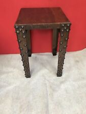 INDUSTRIAL STYLE DECORATIVE WROUGHT IRON ,TIMBER TOP ,TABLES