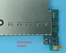 Remplacement connecteur 7 réseau iphone 3gs  soudure repair carte mere