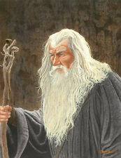 Gandalf Lord Of The Rings Art Print #2