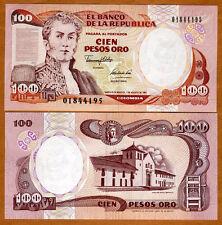 Colombia, 100 Peso Oro, 1991, P-426A, UNC