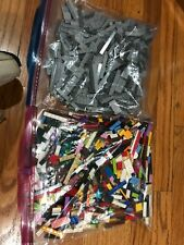 Lego Tile Lot smooth finishing pieces various colors and shapes. 2 lbs and 5 oz